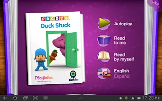 Screenshot of Pocoyo - Duck Stuck