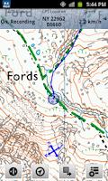 Screenshot of Outdoor Map Navigator