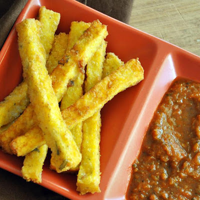 Smoky Polenta Fries