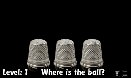 Find The Ball (The Shell Game) - screenshot