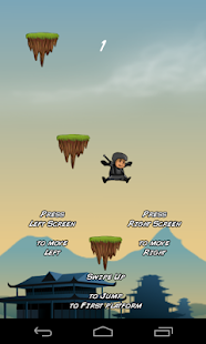 Jumping Little Ninja Android - screenshot