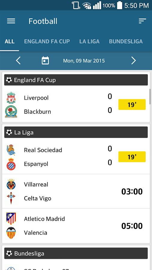 ScoreCenter LIVE Screenshot 0