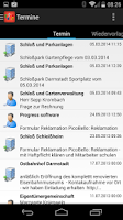 Screenshot of ProCrm Mobile
