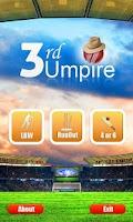 Screenshot of Third Umpire