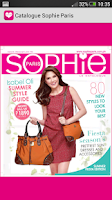 Screenshot of Sophie Paris Catalogue