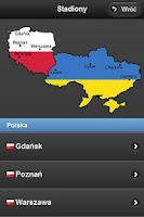 Screenshot of Euro 2012 App - Polska Wersja