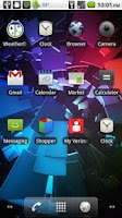 Screenshot of Galaxy Nexus Boot Wallpaper