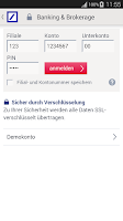 Screenshot of Meine Bank