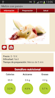 Screenshot of Recetas