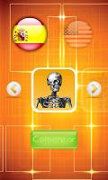 Screenshot of Aprende anatomia humana niños