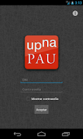 Screenshot of UPNA PAU