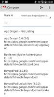 Screenshot of App Dragon App Lister