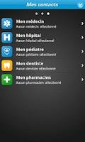 Screenshot of iSOS : In case of emergency