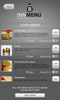 Screenshot of Innmenu free - restaurant menu