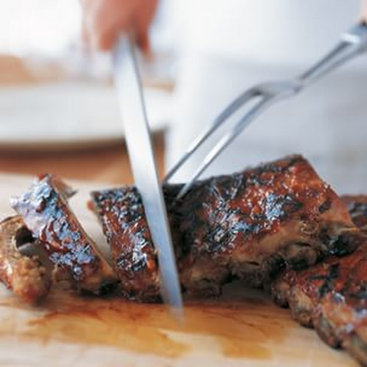 Barbecued Ribs with Hoisin Glaze Recipe | Yummly