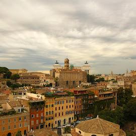 roman forum by Samantha Bearman - City,  Street & Park  Historic Districts ( rome,  )
