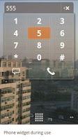 Screenshot of Phone Widget