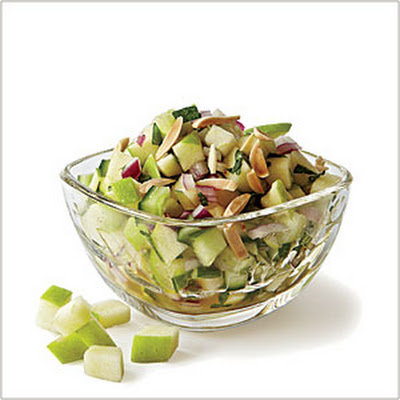 Green Apple-Cucumber Salsa
