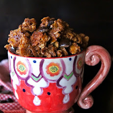 Chocolate Coffee-Almond Granola