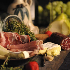 Tuscan taste by Stefania Kleynendorst - Food & Drink Meats & Cheeses ( Food & Beverage, meal, Eat & Drink,  )