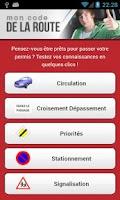 Screenshot of Mon Code de la Route