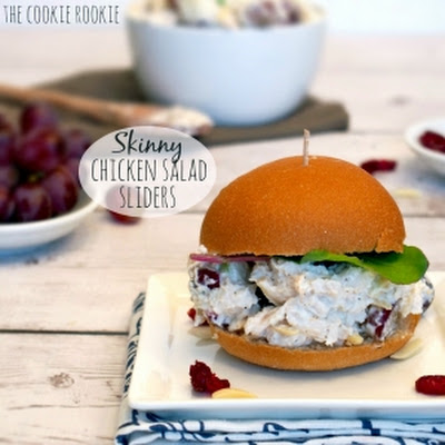 Skinny Chicken Salad Sliders