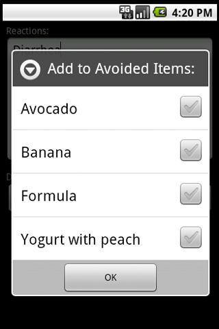【免費工具App】Baby Food Diary-APP點子