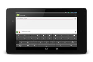 Screenshot of TypeDroid Pro with Keyboard