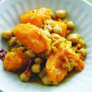 Bengali Squash with Chickpeas