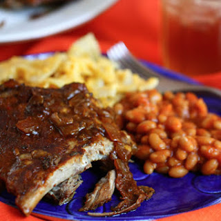 Sweet & Spicy Crock Pot Ribs