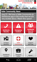 Screenshot of Safe@Swin