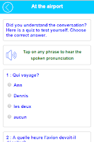 Screenshot of Learn French Speak French