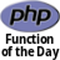 PHP Function of the Day icon