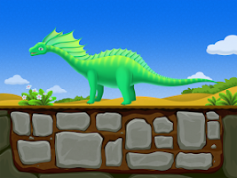 Screenshot of Dinosaur Games for Kids-Puzzle