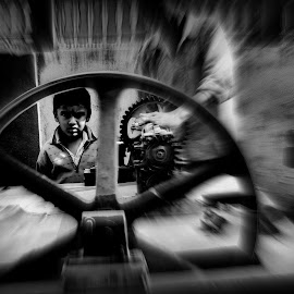 SSpinning wheels.........Spinning dreams !!! by Debkumar Suin - Novices Only Street & Candid