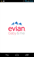 Screenshot of evian baby&me app - reloaded