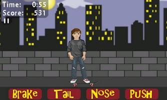 Screenshot of Sean McNulty Skateboard Lite