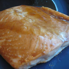 Salmon Fillet with Soy Glaze
