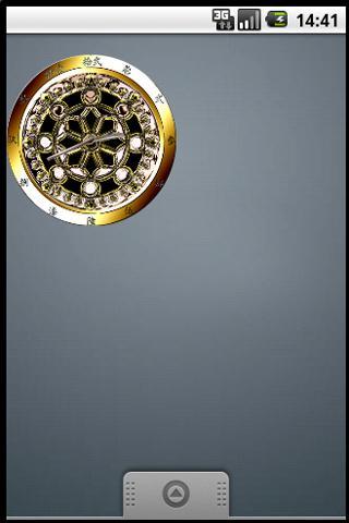 輪宝 家紋アナログ時計