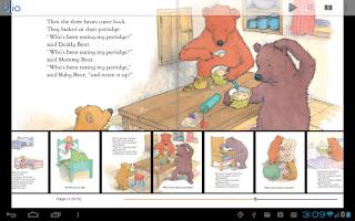 Screenshot of Blio eBooks