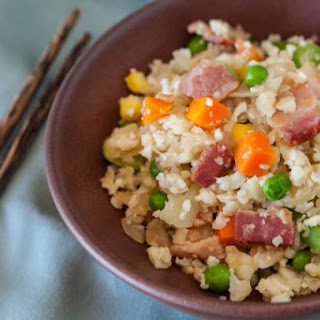 Paleo Cauliflower Bacon Fried Rice