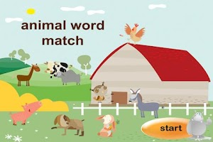 Screenshot of Animals Word Match