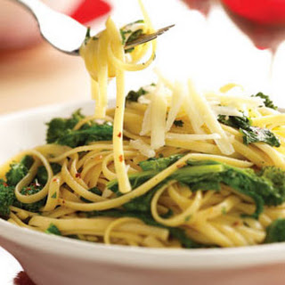 Broccoli Rabe & Garlic Pasta