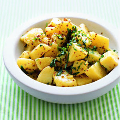 Potato Salad with Grainy Mustard Vinaigrette