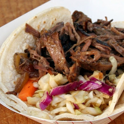 Slaw Recipe for Korean Crock-pot Beef Tacos