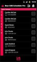 Screenshot of SMS Scheduler Pro