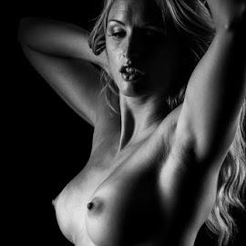 shadows by Paul Phull - Nudes & Boudoir Artistic Nude ( body, blonde, nude, artistic, boobs, shadows )