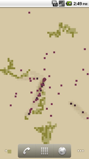 Pixel Ants Pro Live Wallpaper