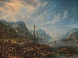RIJKS: Herman Saftleven: painting 1678