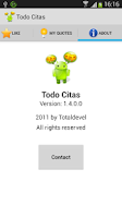 Screenshot of Todo Citas (Free)